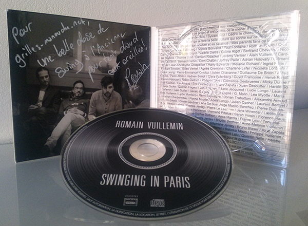 Swinging In Paris, premier album du Romain Vuillemin Quartet
